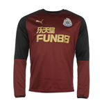 2017-2018 Newcastle Puma Sweat Top (Burgundy)