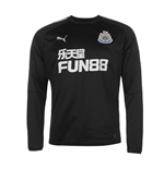 2017-2018 Newcastle Puma Sweat Top (Black)
