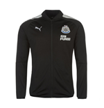 2017-2018 Newcastle Puma Stadium Jacket (Black)