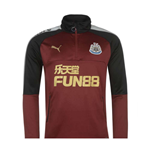 2017-2018 Newcastle Puma Quarter Zip Training Top (Burgundy)