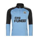 2017-2018 Newcastle Puma Quarter Zip Training Top (Blue)
