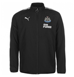 2017-2018 Newcastle Puma Leisure Jacket (Black)