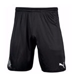 2017-2018 Newcastle Home Football Shorts (Kids)