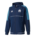 2017-2018 Marseille Adidas Presentation Jacket (Navy)