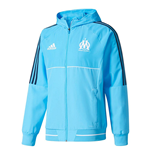 2017-2018 Marseille Adidas Presentation Jacket (Blue)