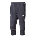 2017-2018 Man Utd Adidas Three Quarter Length Pants (Night Grey)