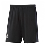 2017-2018 Man Utd Adidas Home Goalkeeper Shorts (Black)