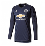 2017-2018 Man Utd Adidas Home Goalkeeper Shirt