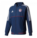 2017-2018 Bayern Munich Adidas Presentation Jacket (Navy)