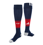 2017-2018 Bayern Munich Adidas Away Football Socks (Navy)