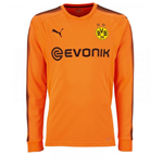 2017-2018 Borussia Dortmund Away Goalkeeper Shirt Orange (Kids)