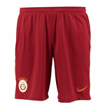 2017-2018 Galatasaray Nike Home Shorts (Red)