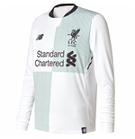 2017-2018 Liverpool Away Long Sleeve Shirt