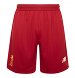 2017-2018 Liverpool Knitted Training Shorts (Red Pepper)