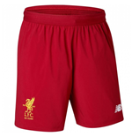 2017-2018 Liverpool Home Shorts (Red) - Kids
