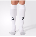 2017-2018 Juventus Adidas Home Football Socks (White)