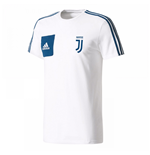 2017-2018 Juventus Adidas Training Tee (White) - Kids