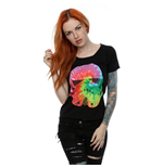 Star Wars Ladies Tee: Stormtrooper Uranus Tie Dye with Scoop Neck