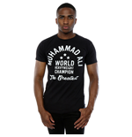 Muhammad Ali Men's Heavyweight Champion Tee Black