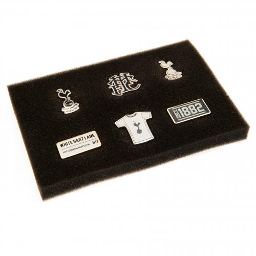 Tottenham Hotspur F.C. 6 Piece Badge Set