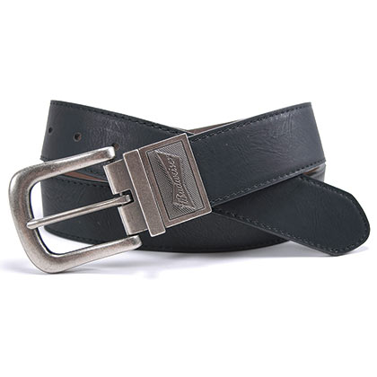 BUDWEISER Reversible Silver Buckle Belt