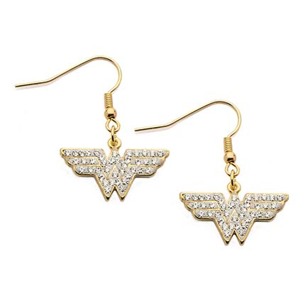WONDER WOMAN Dangling Hook Earrings