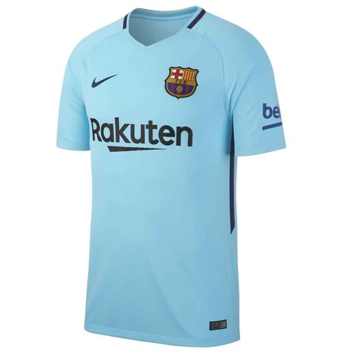 2017-2018 Barcelona Away Nike Shirt (Kids)