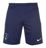 2017-2018 Tottenham Home Nike Football Shorts (Navy)