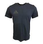 2017-2018 Man Utd Adidas Graphic Tee (Navy)