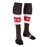 2017-2018 St Pauli Home Football Socks (Timber)