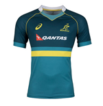 2017-2018 Australia Wallabies Rugby Training Top (Legion Blue)