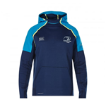 2017-2018 Leinster Rugby Vaposhield OTH Fleece Hoody (Peacot)