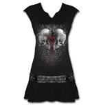 Love And Death - Stud Waist Mini Dress Black