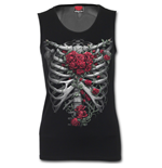 Rose Bones - Tattoo Back Mesh Sublimated  Vest