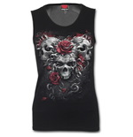 Skulls N Roses - Tattoo Back Mesh Sublimated  Vest