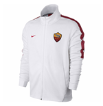 2017-2018 AS Roma Nike Authentic Franchise Jacket (White)