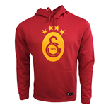 2017-2018 Galatasaray Nike Core Hooded Top (Pepper Red)