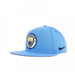 2017-2018 Man City Nike Adjustable Cap (Blue)