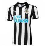 2017-2018 Newcastle Authentic Home Football Shirt