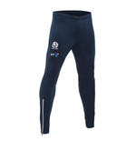 2017-2018 Scotland Macron Rugby Fitted Track Pants (Navy)