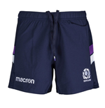 2017-2018 Scotland Macron Home Rugby Shorts (Navy)