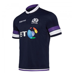 2017-2018 Scotland Home Authentic Replica Rugby Shirt