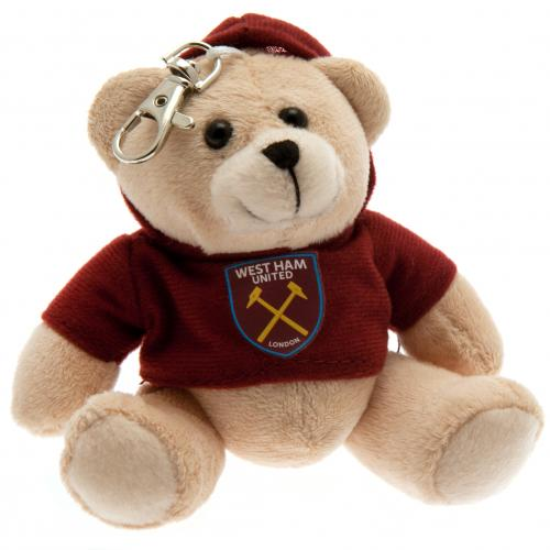 West Ham United F.C. Bag Buddy Bear