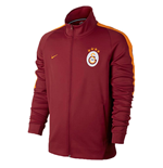 2017-2018 Galatasaray Nike Authentic Franchise Jacket (Pepper Red)