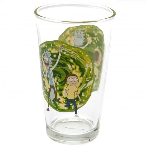 Rick And Morty Large Glass