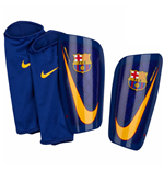 2017-2018 Barcelona Nike Mercurial Lite Shinpads (Red-Blue)