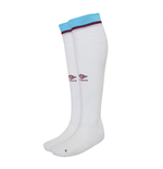 2017-2018 West Ham Home Football Socks (White)