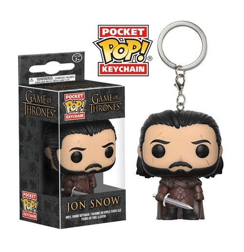 Game of Thrones POP! Vinyl Keychain Jon Snow 4 cm