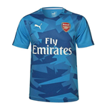 2017-2018 Arsenal Puma Training Jersey (Blue)