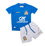 2017-2018 Italy Macron Home Rugby Mini Kit